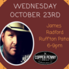 Live Music with James Radford